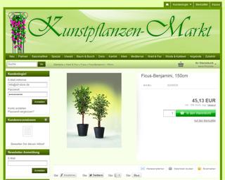 Kunstpflanzen-Markt